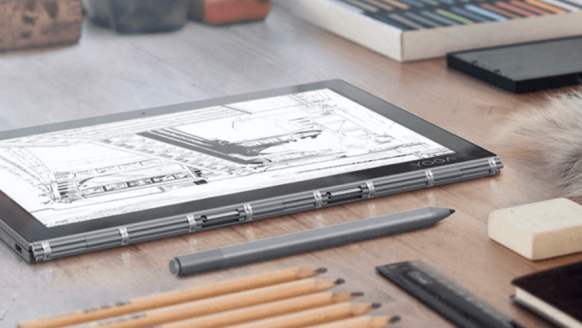 Een tablet met 2 schermen én alle functies van een laptop – deze wil je hebben