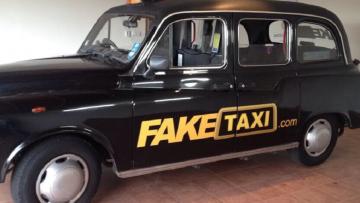 De originele 'Fake Taxi' voor een prikkie te koop aangeboden op eBay