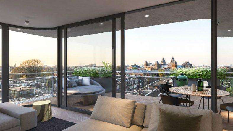 Te koop: het bruutste appartement van Amsterdam is de ultieme natte droom