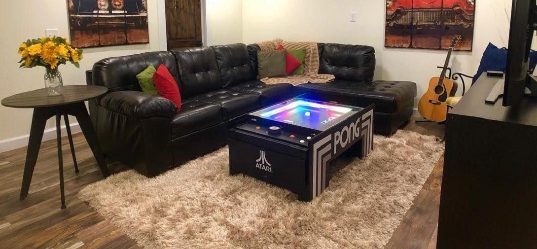 Deze Atari Pong Coffee Table is de ultieme mancave must-have