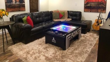 Deze Atari Pong Coffee Table is de ultieme mancave must-have