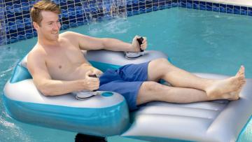 Dé must-have van de zomer: dit brute gemotoriseerde luchtbed