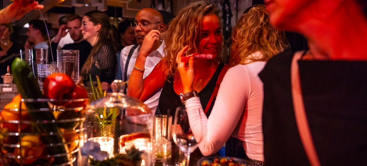 Koningsnacht breng je door bij restaurant C in Amsterdam