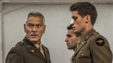 Trailer: George Clooney is een grote baas in deze nieuwe krankzinnige oorlogsserie