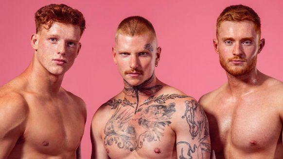 Roodharige mannen gezocht voor naaktkalender 2020