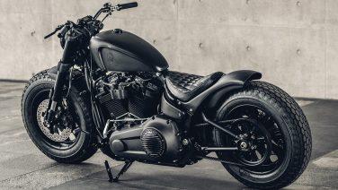 Mighty Guerrila: de bruutste all-black Custom Harley-Davidson