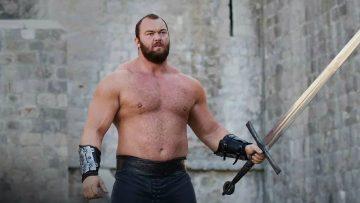 Before en after: bizarre transformatie 'The Mountain' van Game of Thrones