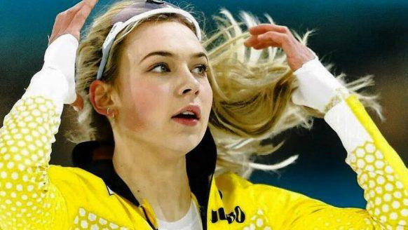 Deze prachtige schaatsster is mogelijk de nieuwe vriendin van Kjeld Nuis
