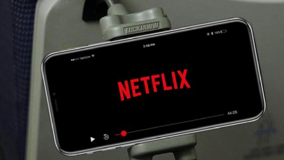 Met deze handige telefoonhouder kijk jij altijd en overal je series