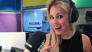 Celine Huijsmans is de mooiste nieuwslezeres op de Nederlandse Radio