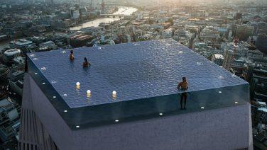 's Werelds dikste Infinity Pool ligt binnenkort in Londen