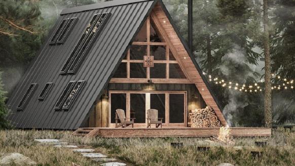 Voor €1.700 je eigen droomwoning, het kan met deze DIY-kit
