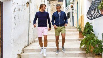 De korte broeken van dit Nederlandse merk zijn perfect voor de hete zomerdagen