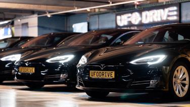 Door deze app kan je binnenkort eenvoudig elektrische auto's huren in Nederland