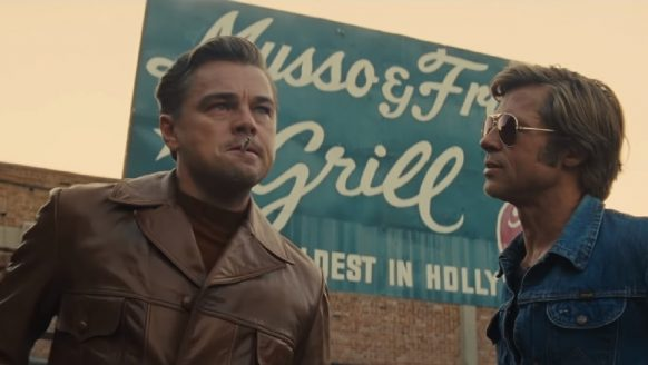 Vanaf vandaag draait Once Upon a Time in Hollywood in de bioscopen