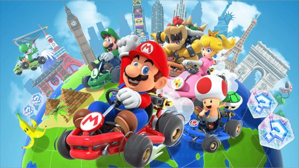 Eindelijk: vanaf vandaag kan je Mario Kart op je smartphone spelen