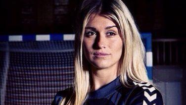 Deze leuke handbalster is de vriendin van Rafael van der Vaart