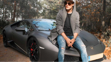 De Lamborgini Huracán van motorcross-koning Jeffrey Herlings is te koop