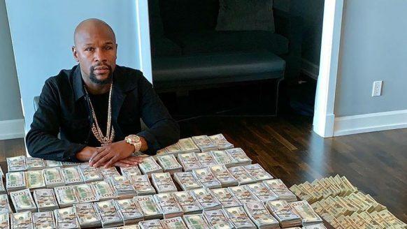 Het vermogen van Floyd 'Money' Mayweather