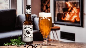 Dit ultieme winterse biertje is gemaakt van kerstbomen