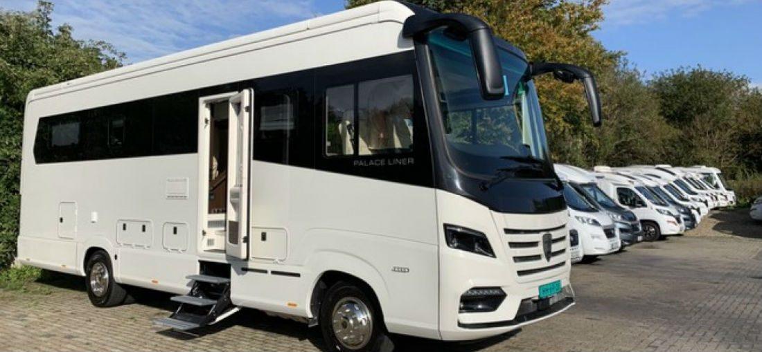 De Morelo Palace Liner 95GB Smart Garage is de duurste camper op Marktplaats