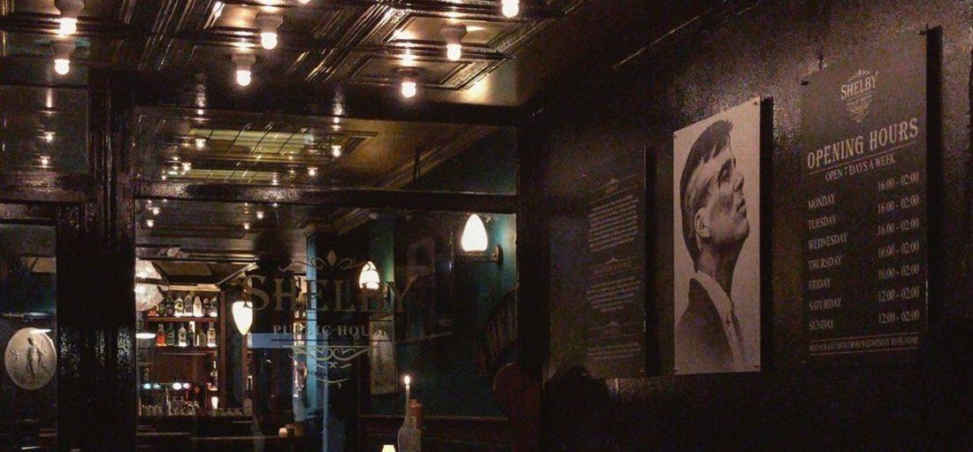 De eerste Peaky Blinders bar in Nederland is nu geopend