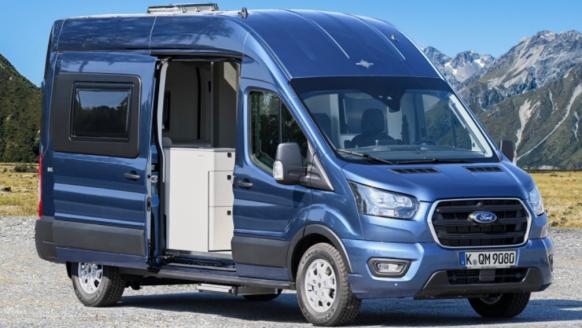 Deze omgebouwde, luxe Ford camper is vanaf 2020 in Europa te koop