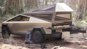 De nieuwe Tesla Cybertruck ombouwen tot brute camper? Het kan!