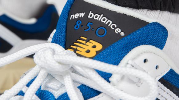 New Balance vervangt de iconische 'N'-branding bij de her-introductie van dé ML850