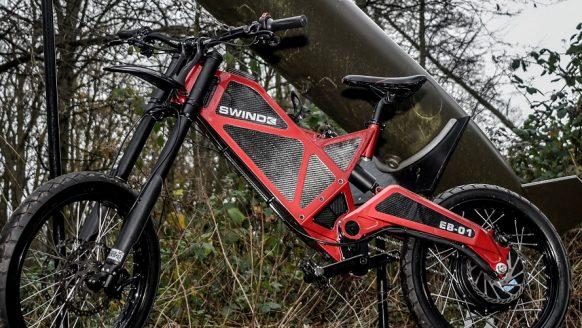 De snelste e-bike ter wereld: de Swind EB-01 gaat 100 kilometer per uur