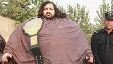 Arbab van 444 kilo is op zoek naar stevige droomvrouw