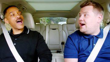 'Carpool Karaoke' van James Corden blijkt nep te zijn