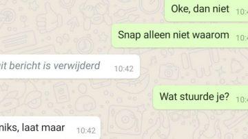 Zo kan je verwijderde WhatsApp-berichten alsnog teruglezen