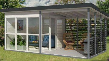 Amazon verkoopt DIY gastenhuisje dat jij in 8 uur zelf bouwt