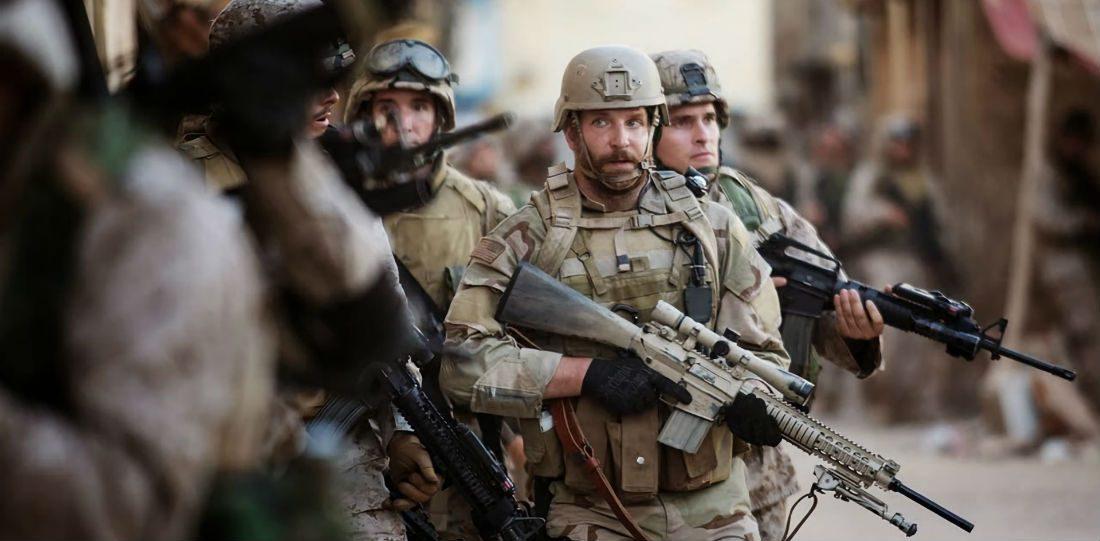 Film tip: Bradley Cooper schittert in een waanzinnige oorlogsfilm