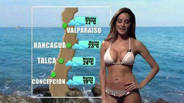 Door deze Chileense weervrouw wordt het nieuws stukken interessanter