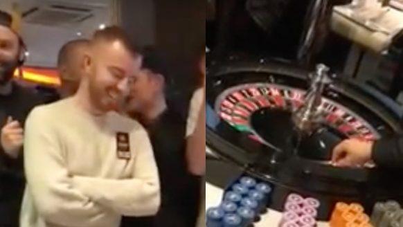 Deze man wint €47.000 met pokertoernooi en zet met roulette vervolgens alles in op zwart