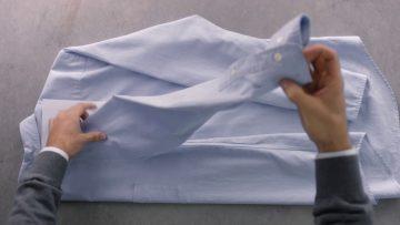 Hoe moet je een overhemd opvouwen? Dit is dé juiste manier