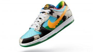 Ben & Jerry's en Nike brengen samen limited 'Chunky Dunky' sneaker uit