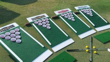 Deze Beer Pong Golf Set is de ultieme game voor de zomer