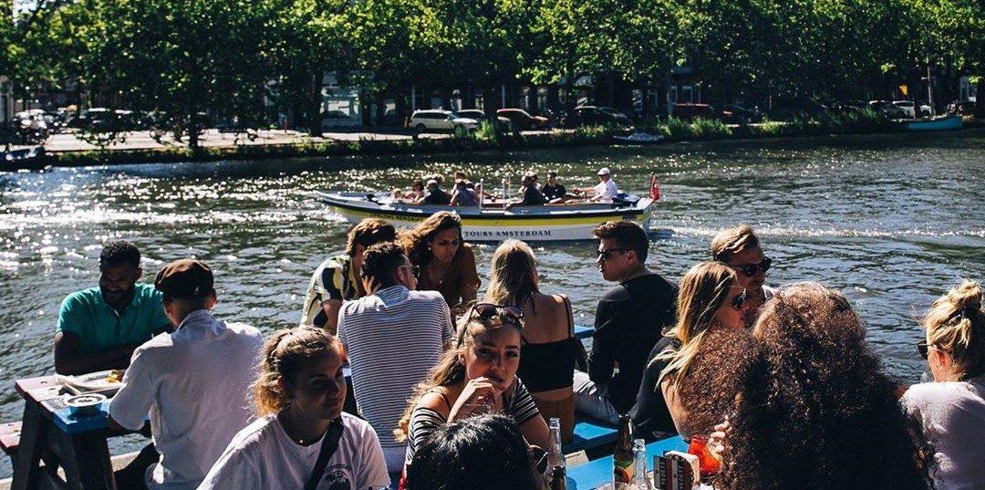 Dit zijn de leukste terrassen in Amsterdam