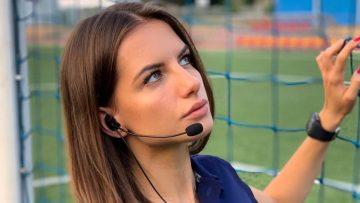 Maak kennis met de knapste scheidsrechter ter wereld: Karolina Bojar