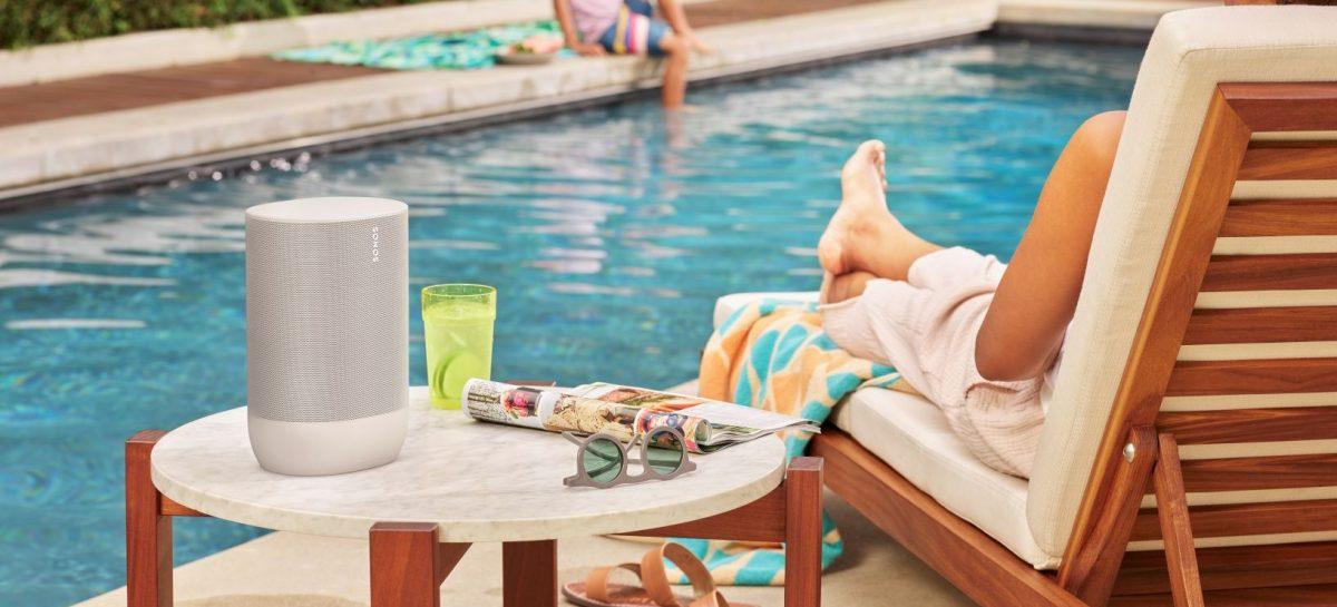 Sonos komt nu met Lunar White-editie van hun eerste draagbare bluetooth speaker
