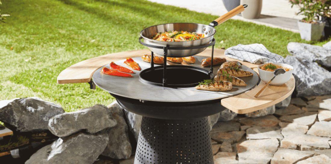 vuurkorf grill-combi Aldi