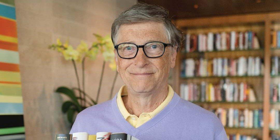 Bill Gates tipt iedere man om deze 5 boeken te lezen