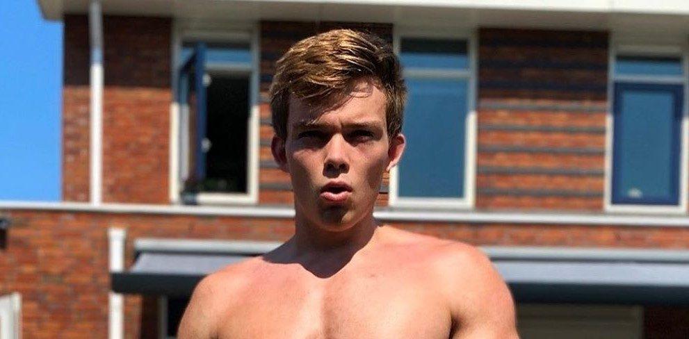Deze Nederlandse jongen verbreekt het wereldrecord push-ups