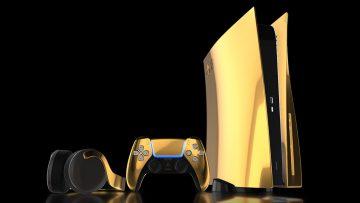 Deze 24 karaat gouden PS5 is dé console voor degene die teveel geld heeft