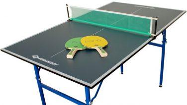 Lidl verkoopt mega handige mini-tafeltennistafel voor in je mancave of op kantoor