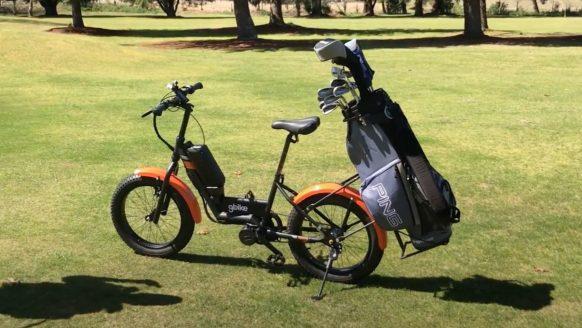 Deze e-bike is perfect om over de golfbaan te scheuren