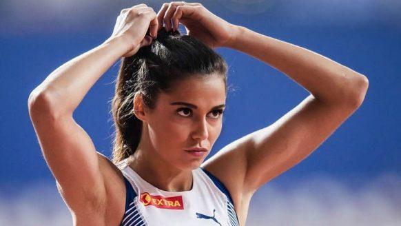 De lach van de atlete Amalie Iuel laat iedere man wegdromen